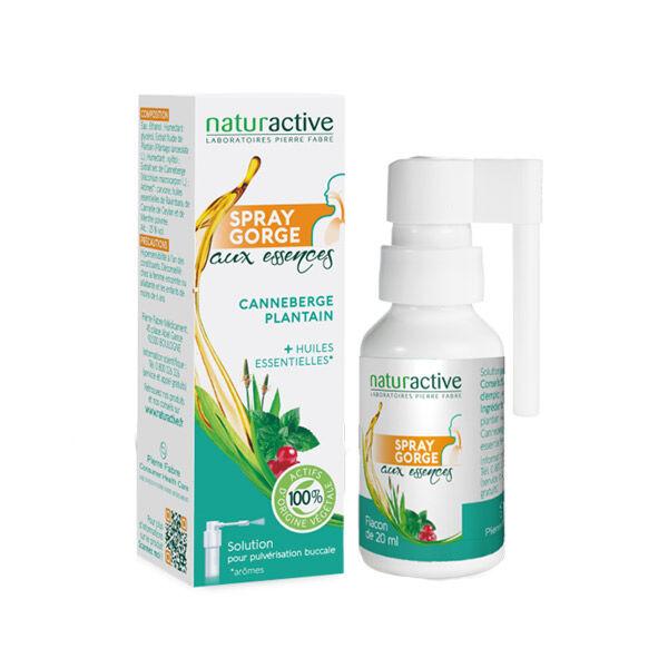 Naturactive Spray Gorge Canneberge Plantain 20ml