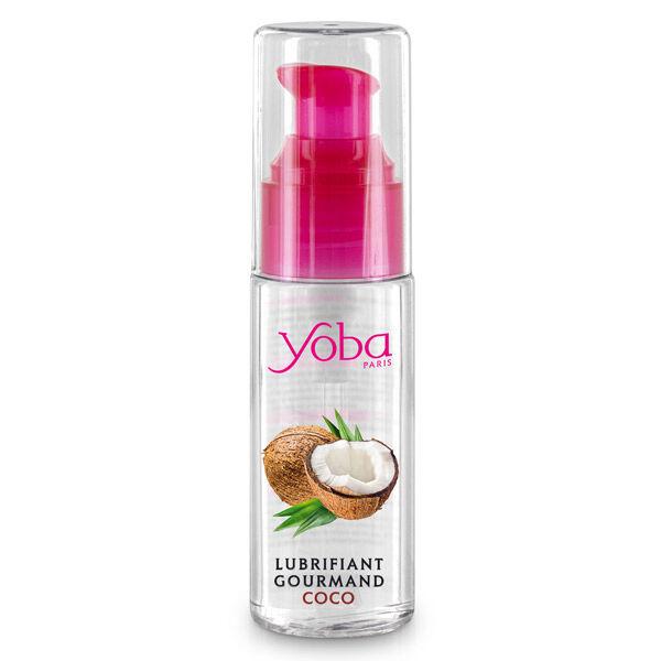 Yoba Lubrifiant Gourmand Parfumé Noix de Coco 50ml