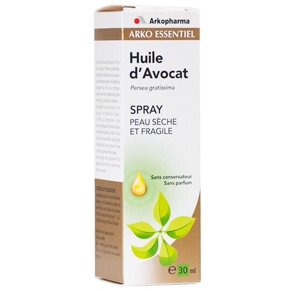 Arko Essentiel Huile d'Avocat Spray Peau Sèche et Fragile 30ml