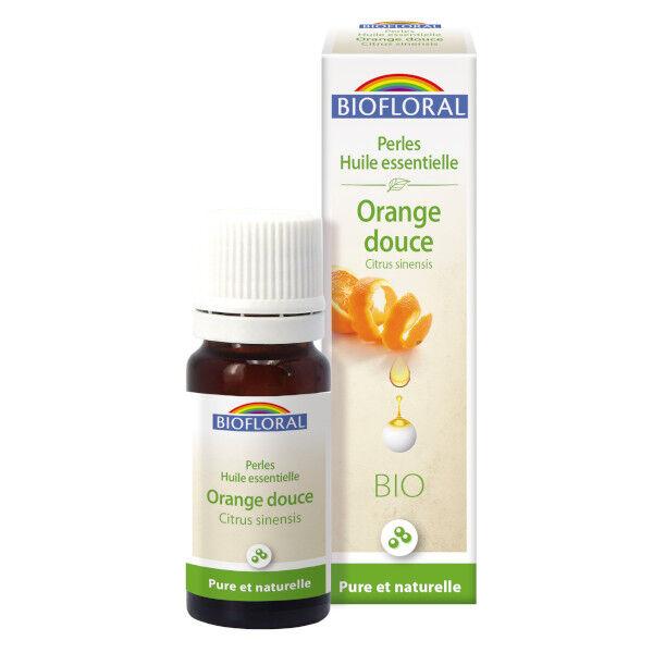 Biofloral Perles Huile Essentielle Orange Douce Bio 20ml
