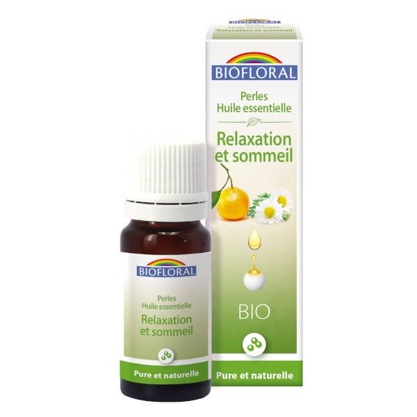 Biofloral Perles Huile Essentielle Complexe Relaxation et Sommeil Bio 20ml
