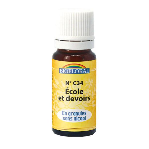 Biofloral Ecole et Devoirs 34 Granules 10ml