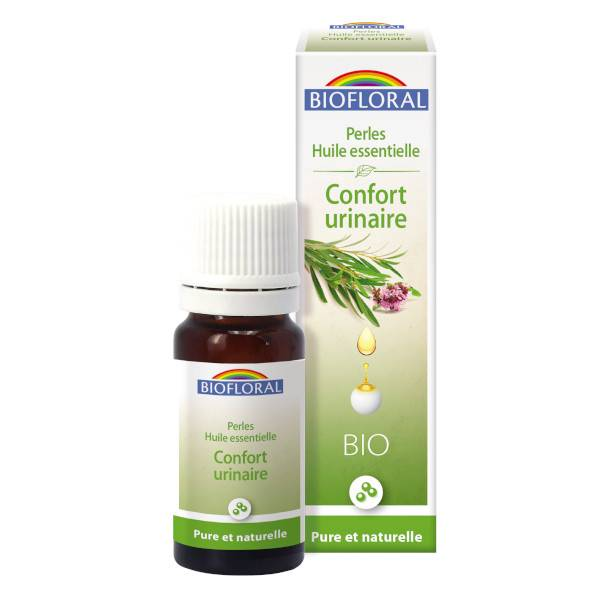 Biofloral Perles Huile Essentielle Complexe Confort Urinaire Bio 20ml