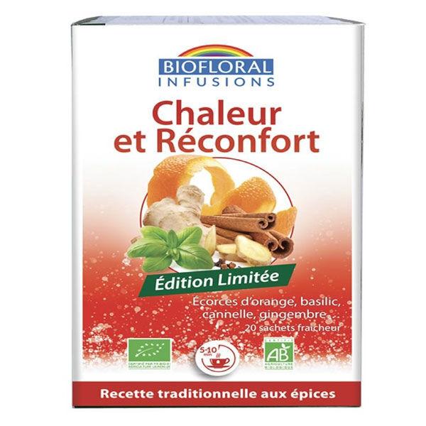 Biofloral Infusion Chaleur et Réconfort Bio 20 sachets