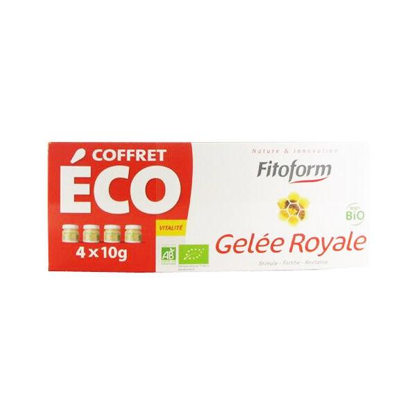 Fitoform Gelée Royale Bio Lot de 4 x 10g