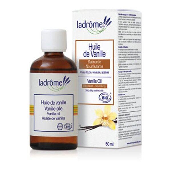 Ladrôme Huile Végétale Macération de Vanille Bio 50ml