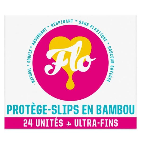 Flo Protège-Slip Bambou Ultra-Fin 24 unités