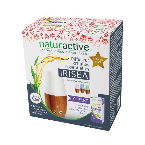 Naturactive Irisea Diffuseur d'Huiles Essentielles + Huile Essentielle Ravintsara 5ml