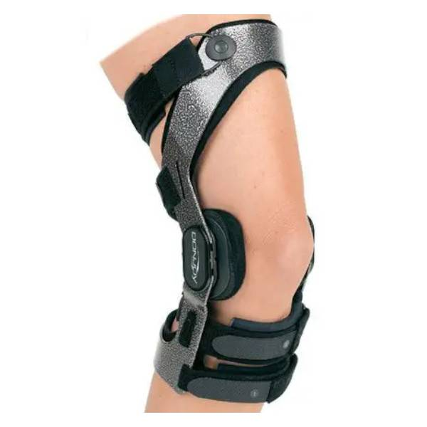 Donjoy Armor LCA Attelle Ligamataire Rigide avec Système Fourcepoint Droite Taille L