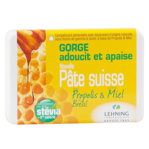 Lehning Pâte Suisse Propolis 40 gommes