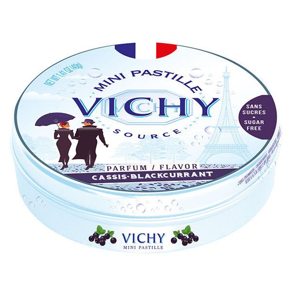 Vichy Pastilles Vichy Mini Pastille Parfum Cassis Sans Sucres 40g