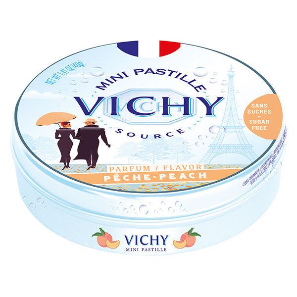 Vichy Pastilles Vichy Mini Pastille Parfum Pêche Sans Sucres 40g