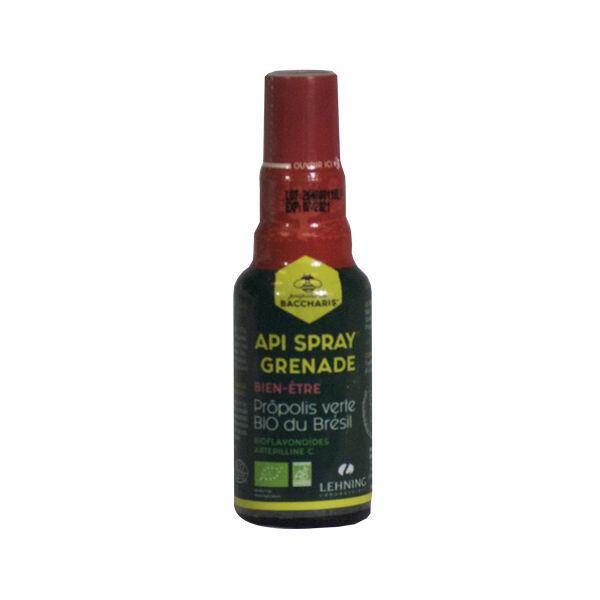 Lehning Propolis Da Baccharis Api Spray Grenade Bio 30ml
