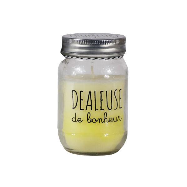 Lysse Côté Maison Bougie Parfumée Bocal Humeur Senteur Vanille Humeur du Jour Dealeuse de Bonheur 260g