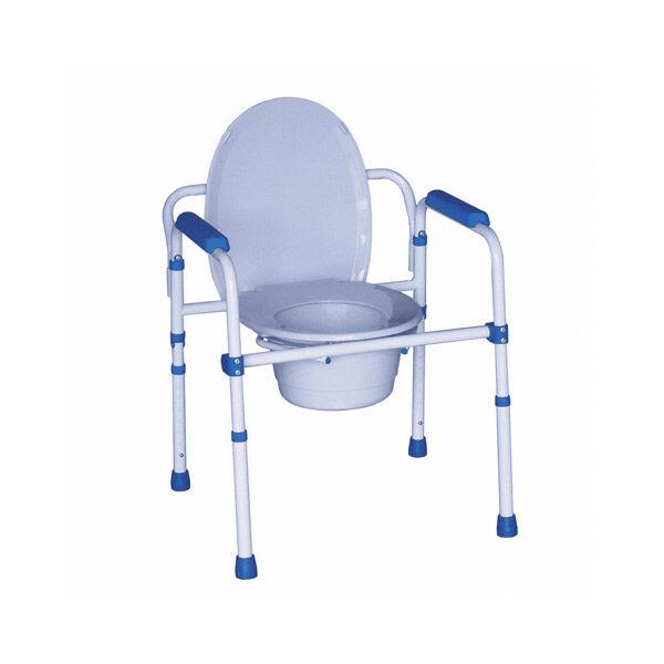 Herdegen Chaise de Toilette Multi-Fonctions 3 en 1