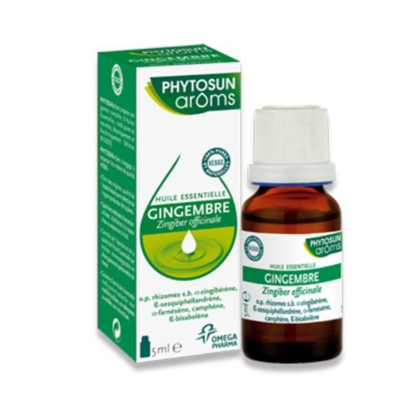 Phytosun Aroms Huile Essentielle Gingembre 5ml