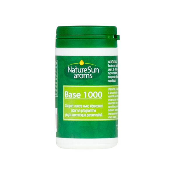 NatureSun Aroms Base 1000 Support Neutre 45 Comprimés