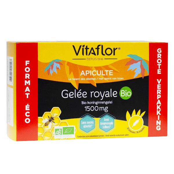 Vitaflor Bio Gelée royale Bio 1500mg 30 ampoules