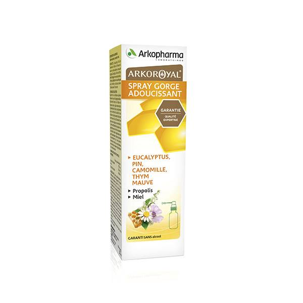 Arkopharma Arkoroyal Spray Gorge Adoucissant 30ml