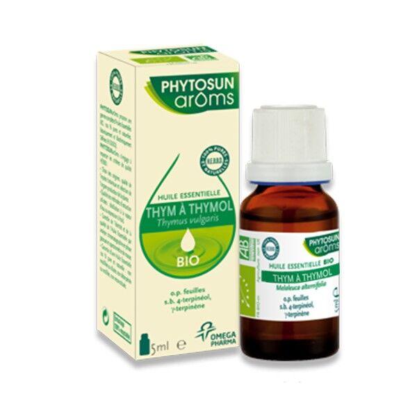 Phytosun Aroms Huile Essentielle Thym à Thymol Bio 5ml