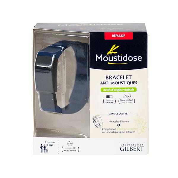 Laboratoires Gilbert Moustidose Bracelet + Composition 10ml Offerte