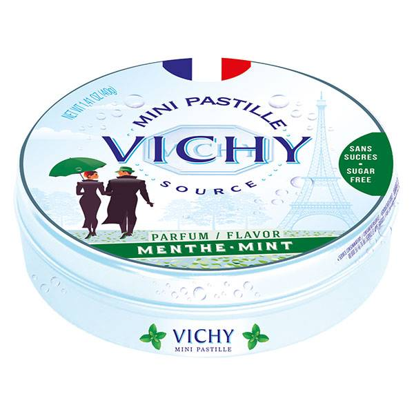 Vichy Pastilles Sans Sucre Menthe 40g