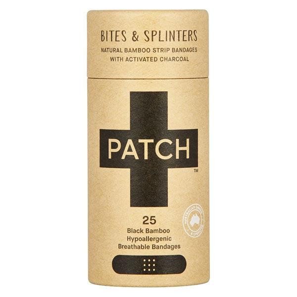 Patch Pansement Adhésif Bambou Charbon Actif 25 unités