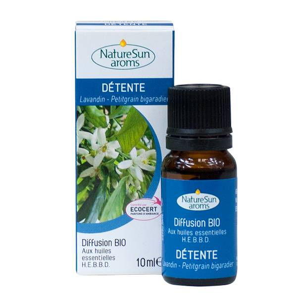 NatureSun Aroms Complexe Diffusion Bio Détente 10ml