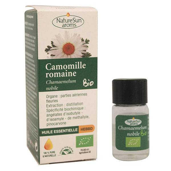 NatureSun Aroms Huile Essentielle Bio Camomille Romaine 2ml