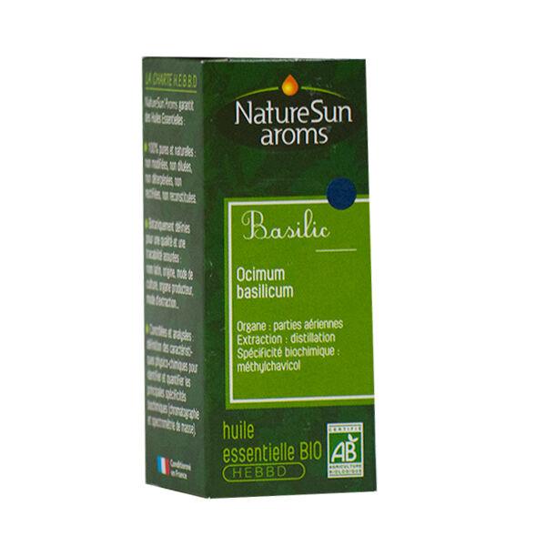 NatureSun Aroms Huile Essentielle Bio Basilic 10ml