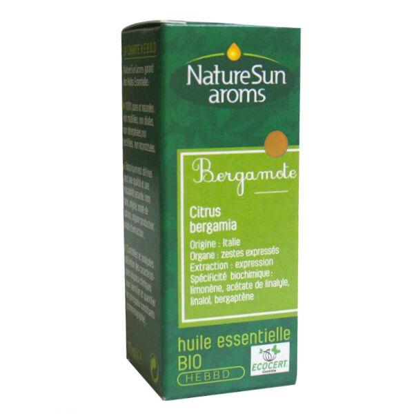 NatureSun Aroms Huile Essentielle Bio Bergamote 10ml