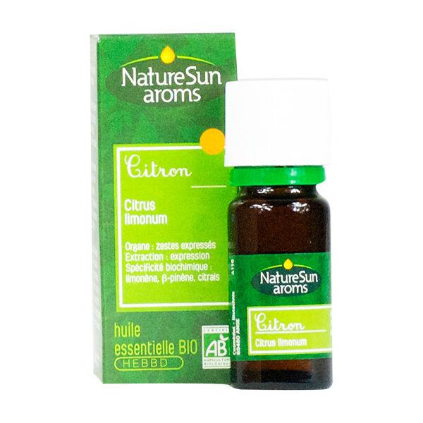 NatureSun Aroms Huile Essentielle Bio Citron 10ml