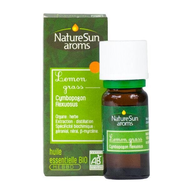 NatureSun Aroms Huile Essentielle Bio Lemon Grass 10ml