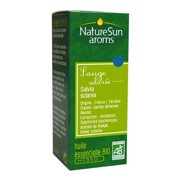 NatureSun Aroms Huile Essentielle Bio Sauge Sclaree 10ml