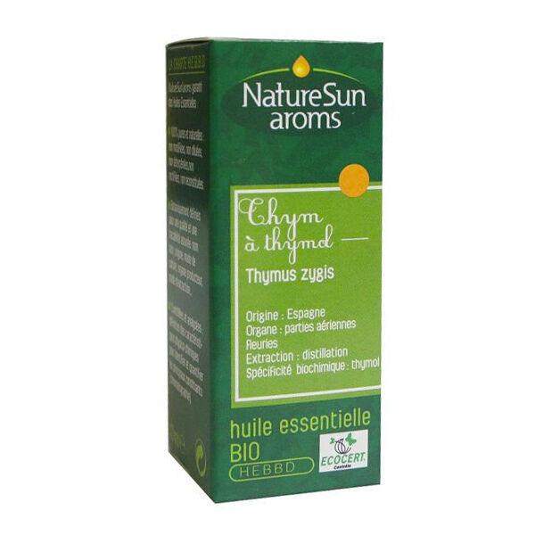 NatureSun Aroms Huile Essentielle Bio Thym Thymol 10ml