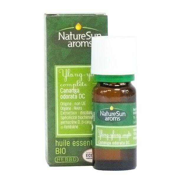 NatureSun Aroms Huile Essentielle Bio Ylang Ylang Complete 10ml