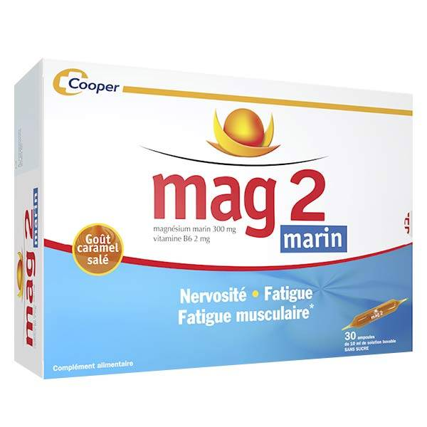 Cooper Mag 2 Marin 30 ampoules