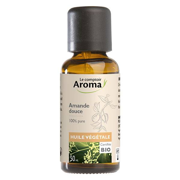 Le Comptoir Aroma Huile Végétale Amande Douce Bio 50ml