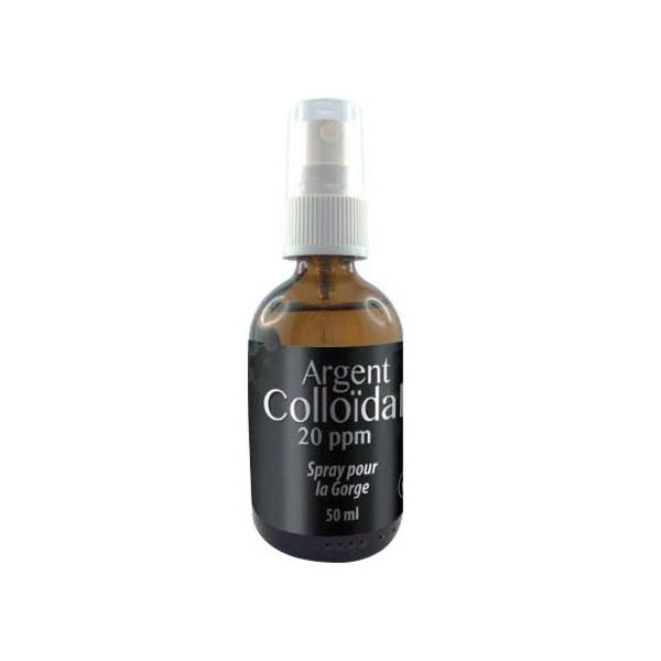 Dr Theiss Spray Gorge Argent Colloïdal 20ppm 50ml