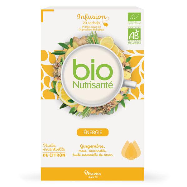 Nutrisanté Infusion Bio Energie 20 Sachets
