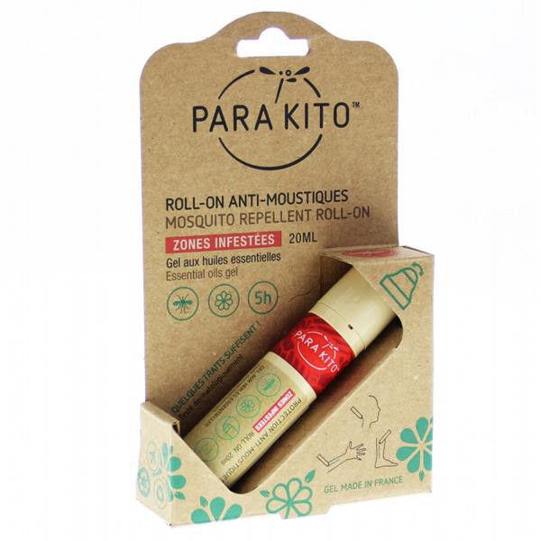 Parakito Roll-On Anti-Moustiques et Anti-Tiques 20ml