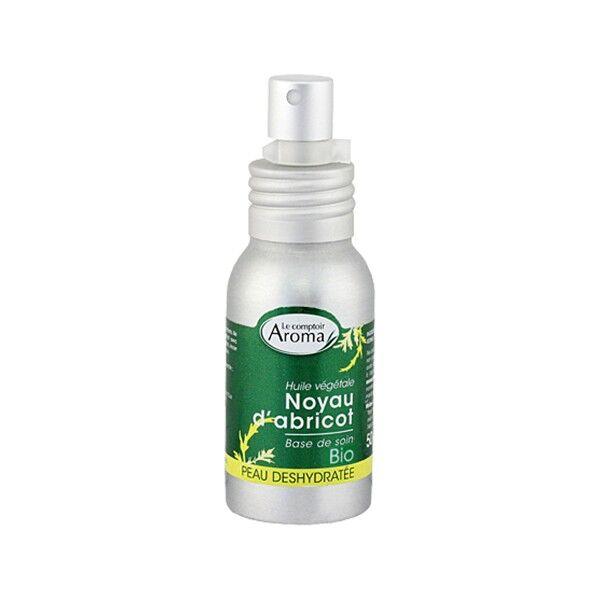 Le Comptoir Aroma Huile de soin Végétale Noyau d'Abricot Spray 50ml