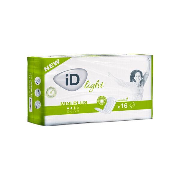 L&R; iD Light Protection Anatomique Mini Plus 2,5 Gouttes 25,7 x 9,2cm 16 unités