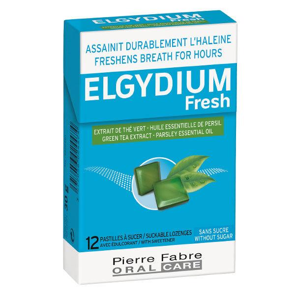 Elgydium Fresh Pastilles à Sucer Sans Sucre 12 unités