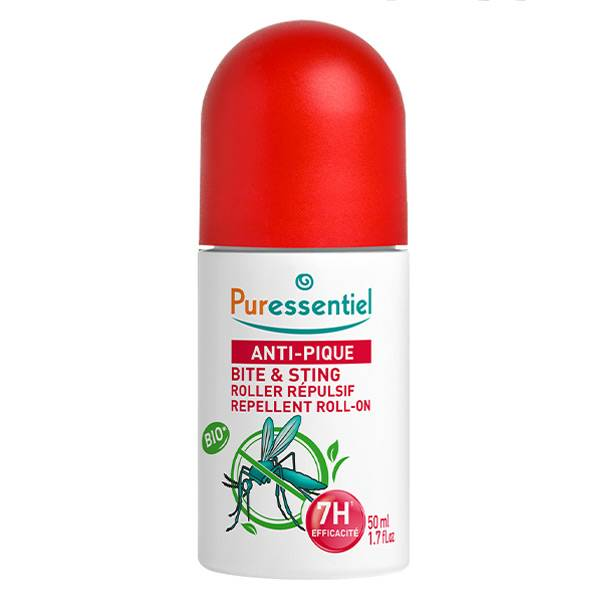 Puressentiel Anti-Pique Roller Répulsif Anti-Moustique 50ml