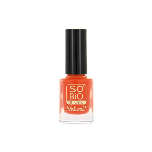 So Bio Etic Vernis à Ongles Huile de Ricin Biologique 08 Orange Pop 10ml