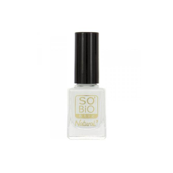 So Bio Etic Vernis à Ongles Huile de Ricin Biologique 12 Blanc French 10ml