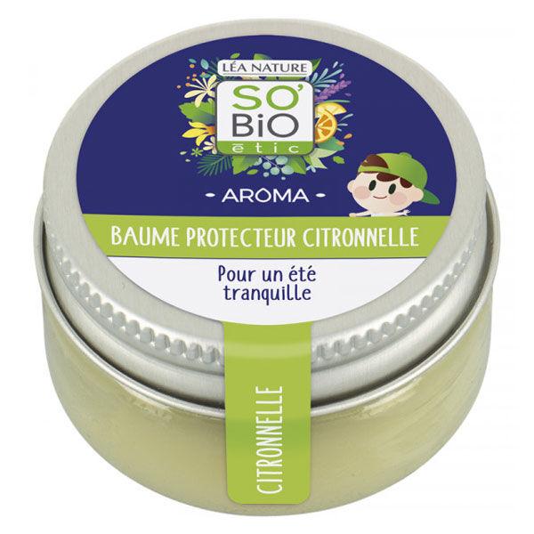 So'Bio Étic Aroma Baume Enfant Protecteur Citronnelle 25g