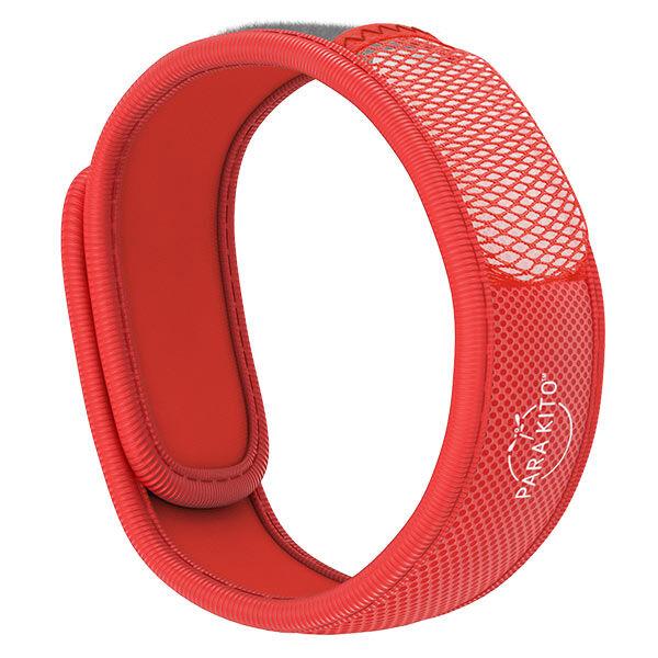 Parakito Color Bracelet Anti-Moustiques Rouge + 2 pastilles