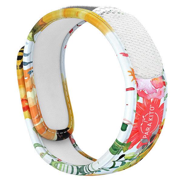 Parakito Graphic Bracelet Anti-Moustiques Flowery + 2 pastilles